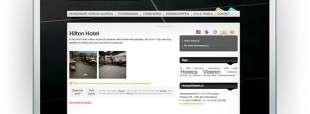 Website HorecaVloeren.nl uit Zuidland