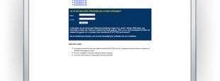E-mailing / E-letter voor PDT Waterproofing Nederland