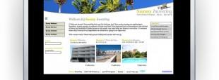 Naamgeving en website Sunny Investing uit Tarragona, Barcelona, Spanje
