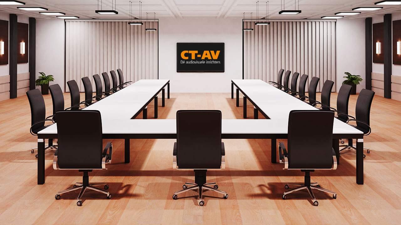 Compleet nieuw webdesign en nieuwe CMS voor CT-AV dé audiovisuele inrichters