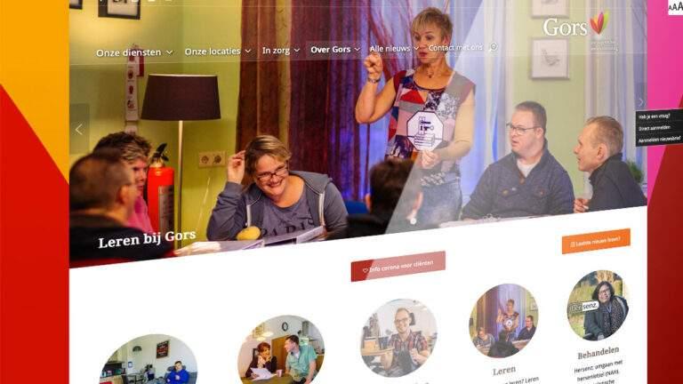 Geheel nieuwe website Gors gelijktijdig met introductie huisstijl online