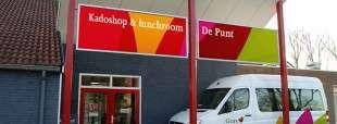 Voorzijde van Kadoshop & lunchroom De Punt in Zierikzee, dagbesteding voor mensen met een verstandelijke beperking
