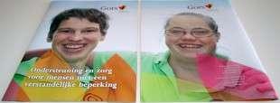 Brochure Gors, mensen met een verstandelijke beperking