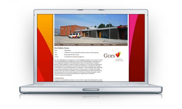 Vernieuwde website compleet met alle locaties van Gors Zeeland.