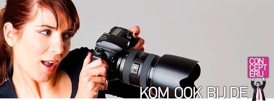 Freelance fotograaf voor merkwaardig creatief digitaal webmarketing-, reclamebureau de CONCEPTERIJ