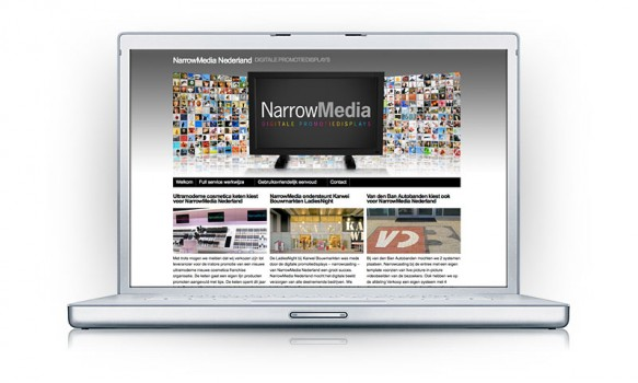 Narrowcasting via NarrowMedia, digitale promotiedisplays Rotterdam