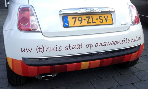 Spraakmakende fleetmarketing voor nieuw concept op Schouwen-Duiveland.