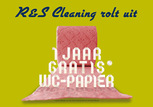 DM-actie R&S Cleaning schoonmaakdiensten groot Rotterdam e.o.